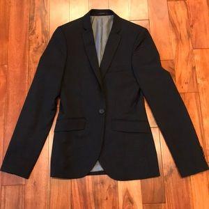 Topman NWOT Slim Fit Black Blazer